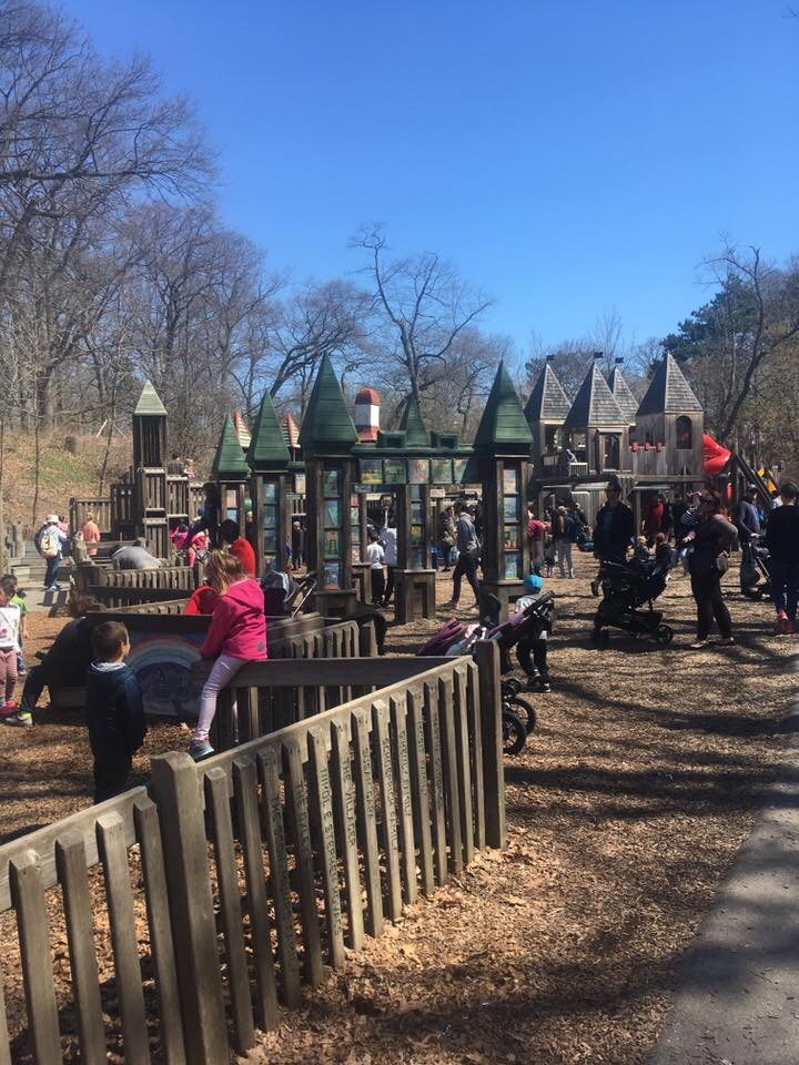 Image of children playing at High Park